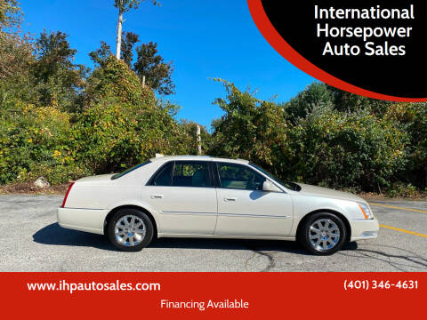 2011 Cadillac DTS for sale at International Horsepower Auto Sales in Warwick RI