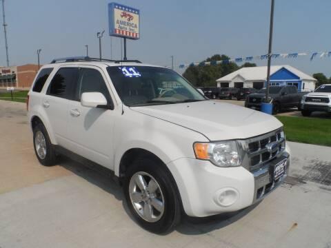 2011 Ford Escape for sale at America Auto Inc in South Sioux City NE