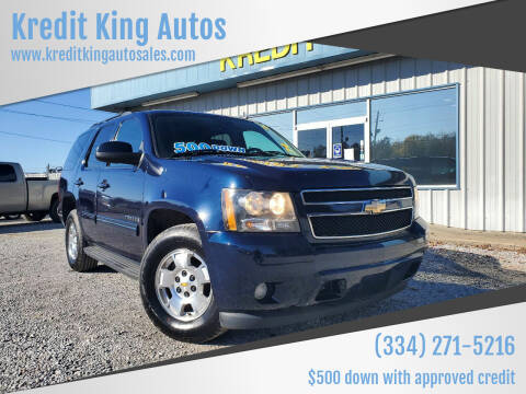 2009 Chevrolet Tahoe for sale at Kredit King Autos in Montgomery AL