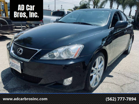 2007 Lexus IS 350 for sale at AD Car Bros, Inc. in Whittier CA