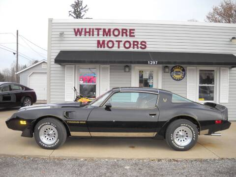 1979 Pontiac Firebird Trans Am for sale at Whitmore Motors in Ashland OH