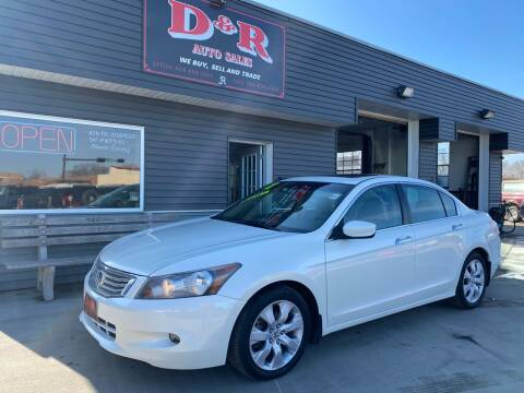2008 Honda Accord for sale at D & R Auto Sales in South Sioux City NE
