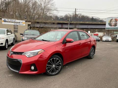 2014 Toyota Corolla for sale at Ultra 1 Motors in Pittsburgh PA
