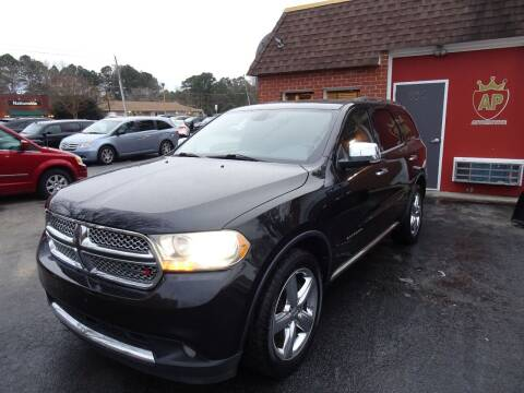 2012 Dodge Durango for sale at AP Automotive in Cary NC