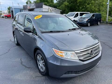 2011 Honda Odyssey for sale at LexTown Motors in Lexington KY