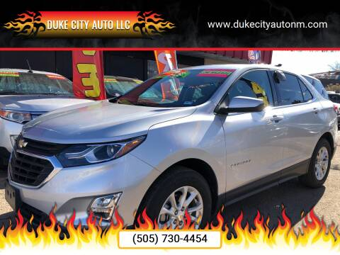 2018 Chevrolet Equinox for sale at Duke City Auto LLC in Gallup NM