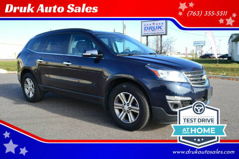 2017 Chevrolet Traverse for sale at Druk Auto Sales in Ramsey MN