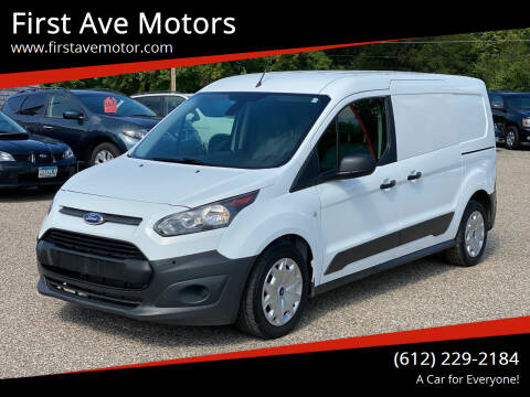 2017 Ford Transit Connect Cargo for sale at First Ave Motors in Shakopee MN