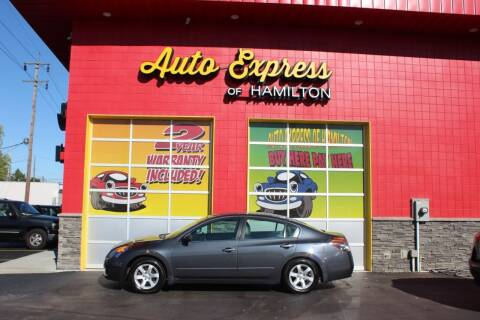 2009 Nissan Altima for sale at AUTO EXPRESS OF HAMILTON LLC in Hamilton OH