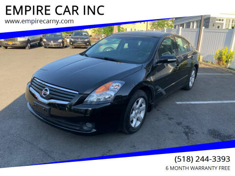 2008 Nissan Altima Hybrid for sale at EMPIRE CAR INC in Troy NY