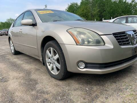 2004 Nissan Maxima for sale at GLOVECARS.COM LLC in Johnstown NY