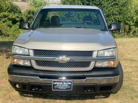 2007 Chevrolet Silverado 1500 Classic for sale at Lewis Blvd Auto Sales in Sioux City IA