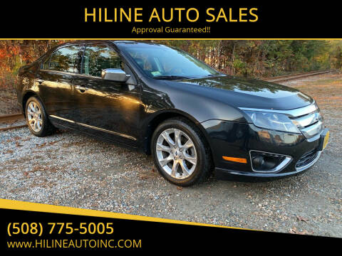 2012 Ford Fusion for sale at HILINE AUTO SALES in Hyannis MA