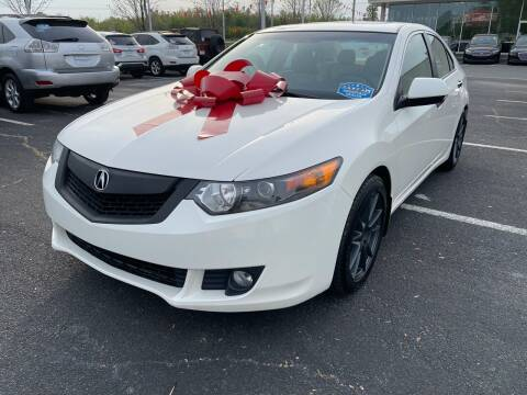 2010 Acura TSX for sale at Charlotte Auto Group, Inc in Monroe NC