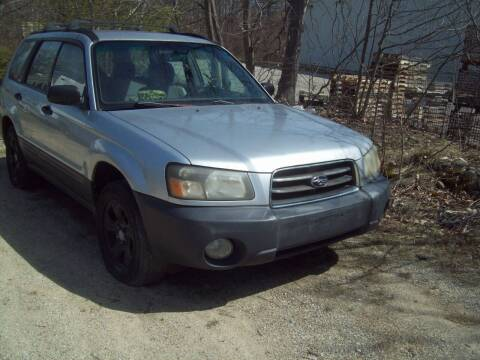 2004 Subaru Forester for sale at Frank Coffey in Milford NH