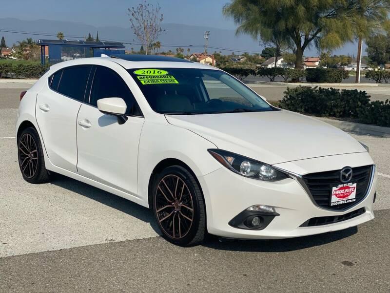 2016 Mazda MAZDA3 for sale at Esquivel Auto Depot in Rialto CA
