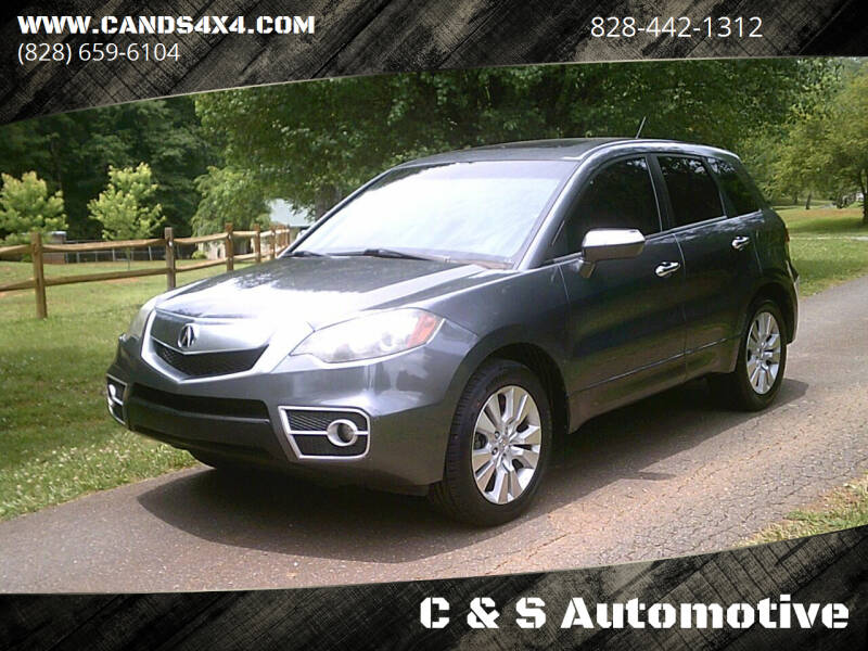 2011 Acura RDX for sale at C & S Automotive in Nebo NC