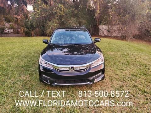 2016 Honda Accord for sale at Florida Motocars in Tampa FL