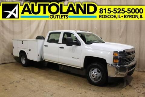 2015 Chevrolet Silverado 3500HD Utility Box 4 for sale at AutoLand Outlets Inc in Roscoe IL