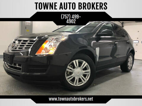 2015 Cadillac SRX for sale at TOWNE AUTO BROKERS in Virginia Beach VA
