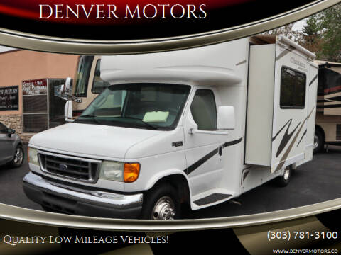 2005 Ford E-Series Chassis for sale at DENVER MOTORS in Englewood CO