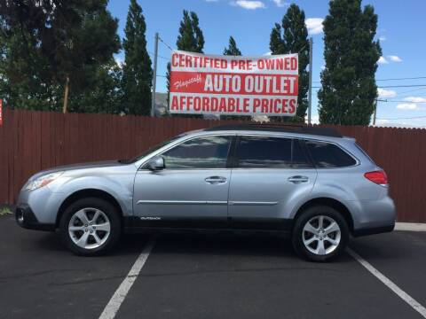 2013 Subaru Outback for sale at Flagstaff Auto Outlet in Flagstaff AZ