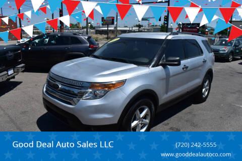 2013 Ford Explorer for sale at Good Deal Auto Sales LLC in Denver CO