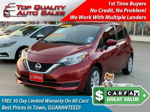 2017 Nissan Versa Note for sale at Top Quality Auto Sales in Redlands CA