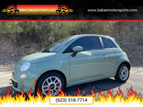 2013 FIAT 500 for sale at Baba's Motorsports, LLC in Phoenix AZ
