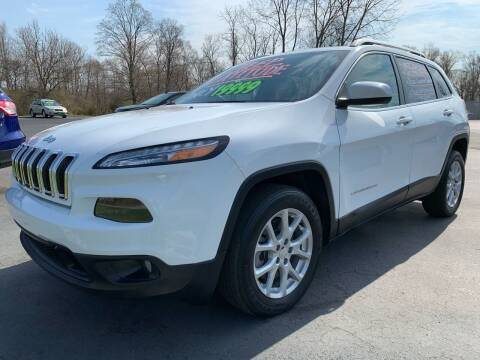 2017 Jeep Cherokee for sale at FREDDY'S BIG LOT in Delaware OH