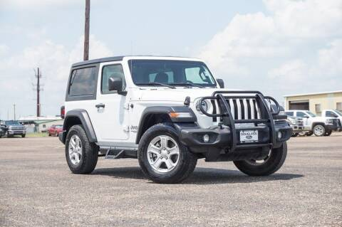 2019 Jeep Wrangler for sale at Douglass Automotive Group - Douglas Ford in Clifton TX