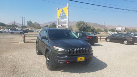 2015 Jeep Cherokee for sale at Auto Depot in Carson City NV