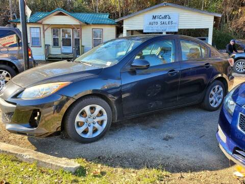 2013 Mazda MAZDA3 for sale at Mc Calls Auto Sales in Brewton AL