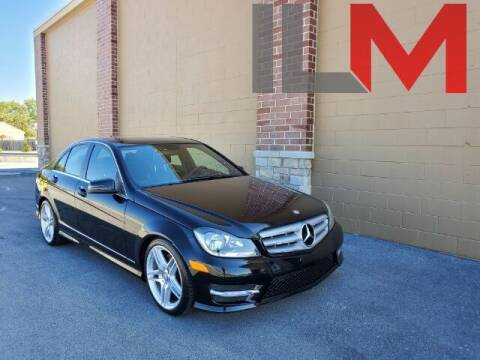 2013 Mercedes-Benz C-Class for sale at INDY LUXURY MOTORSPORTS in Fishers IN