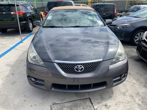 2007 Toyota Camry Solara for sale at Dulux Auto Sales Inc & Car Rental in Hollywood FL