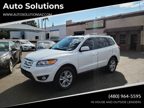 2011 Hyundai Santa Fe for sale at Auto Solutions in Mesa AZ