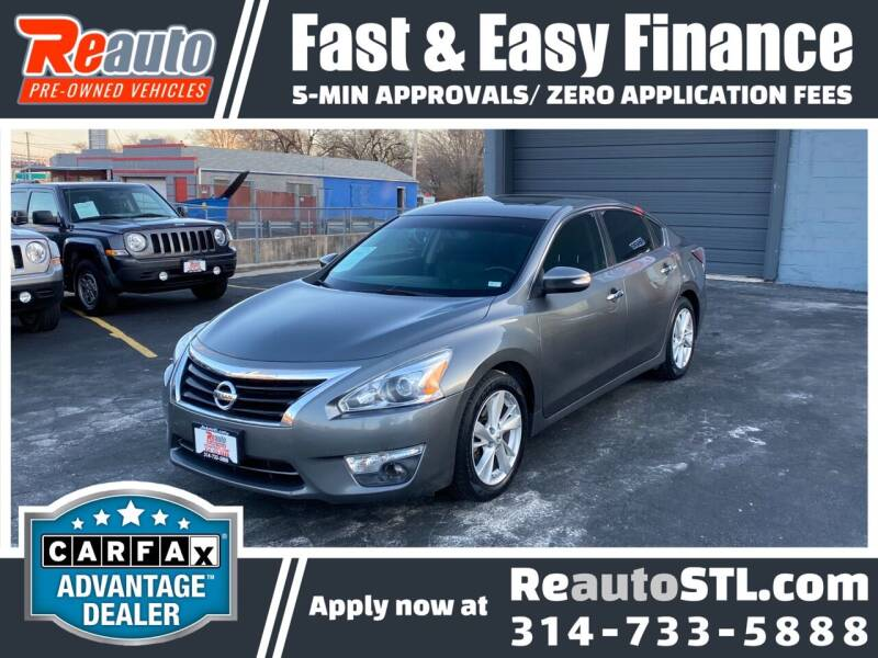 2015 Nissan Altima for sale at Reauto in Saint Louis MO