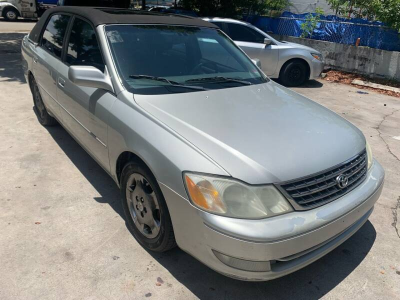 2003 Toyota Avalon for sale at Eden Cars Inc in Hollywood FL