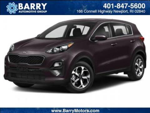 2020 Kia Sportage for sale at BARRYS Auto Group Inc in Newport RI