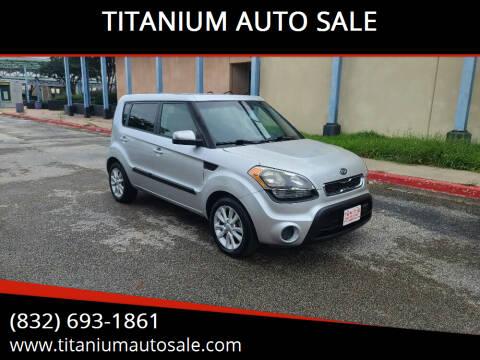 2012 Kia Soul for sale at TITANIUM AUTO SALE in Houston TX