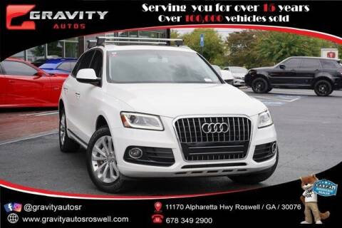 2016 Audi Q5 for sale at Gravity Autos Roswell in Roswell GA