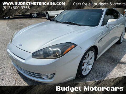 2007 Hyundai Tiburon for sale at Budget Motorcars in Tampa FL