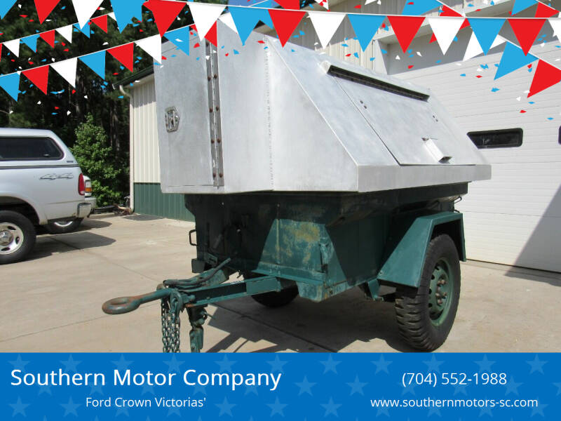 1966 Stevens M416 Military Jeep Trailer for sale at Southern Motor Company in Lancaster SC