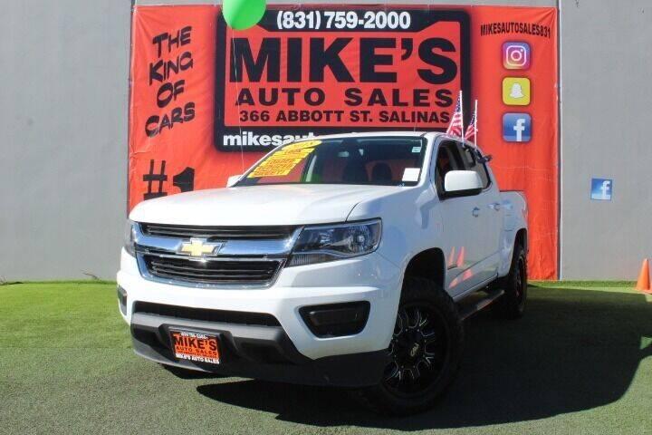 Used Chevrolet Colorado For Sale In Salinas Ca Carsforsale Com
