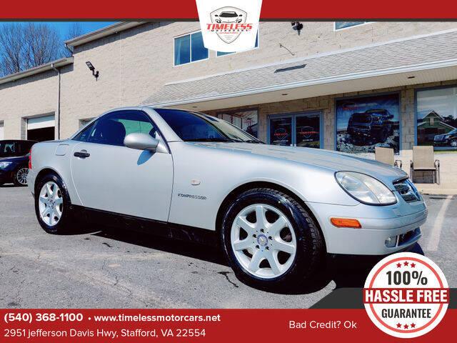 1998 Mercedes-Benz SLK for sale in Stafford, VA