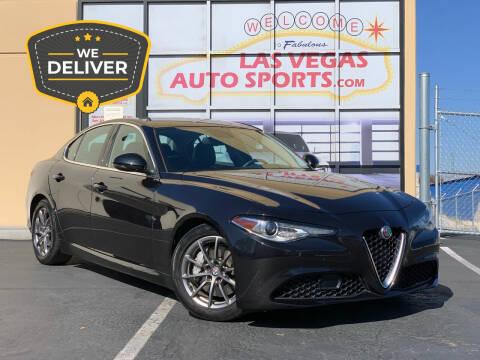 2018 Alfa Romeo Giulia for sale at Las Vegas Auto Sports in Las Vegas NV