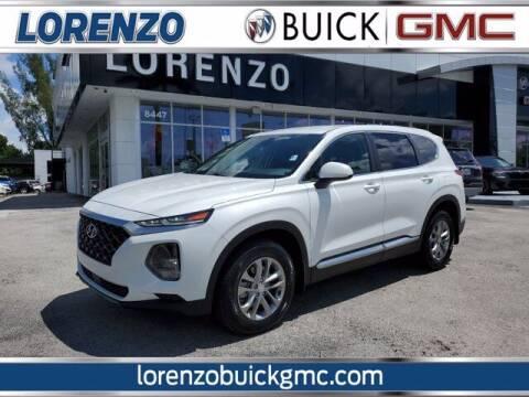 2019 Hyundai Santa Fe for sale at Lorenzo Buick GMC in Miami FL