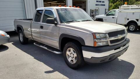 2005 Chevrolet Silverado 1500 for sale at DISCOUNT AUTO SALES in Johnson City TN