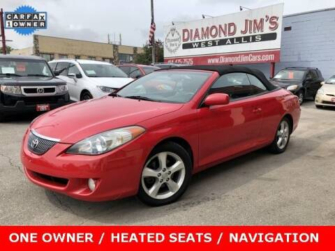 2005 Toyota Camry Solara for sale at Diamond Jim's West Allis in West Allis WI