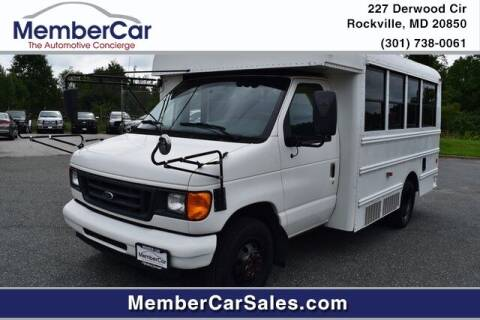 2006 Ford E-Series Chassis for sale at MemberCar in Rockville MD